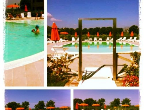Collage piscina